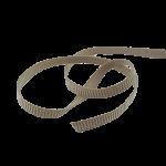 elastisches Ripsband
